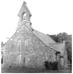 Ballagh Church, August 1950. Rev. Ennis is second from the left.